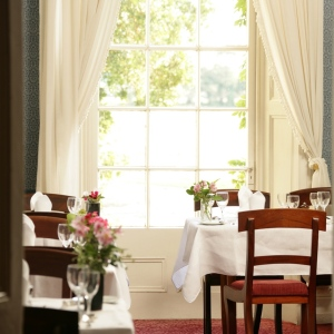 The dining room at Ballymaloe