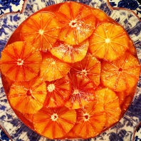 Blood Oranges in Caramel